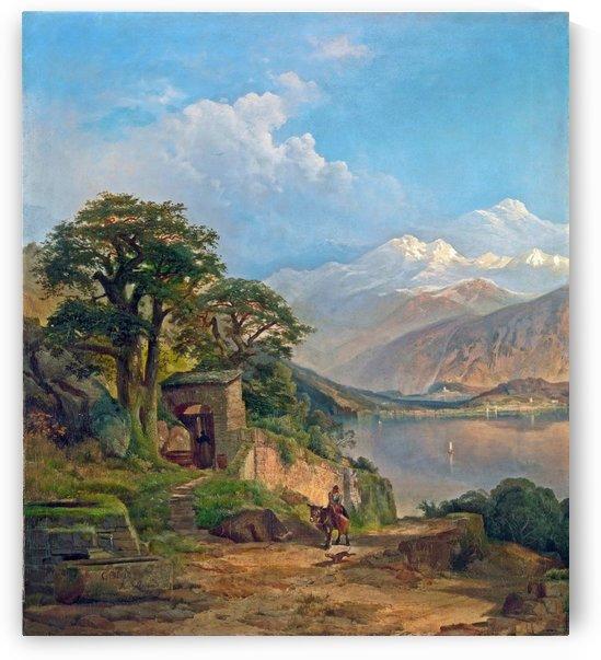 Lake Como by Myles Birket Foster