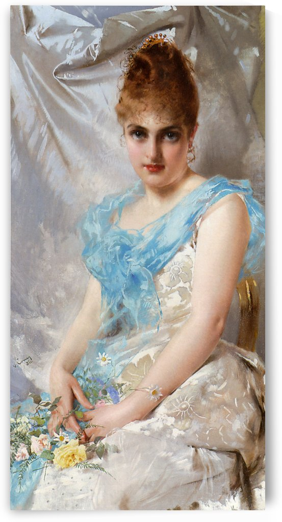 Spring beauty by Vittorio Matteo Corcos