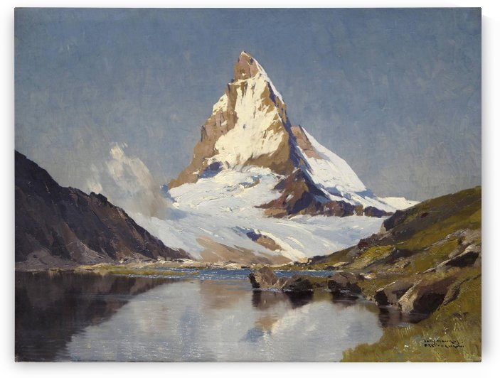 The Matterhorn by Edward Theodore Compton