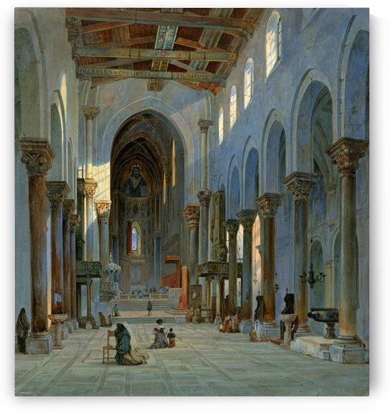 Interno della Cattedrale di Cefalu by Carl Werner