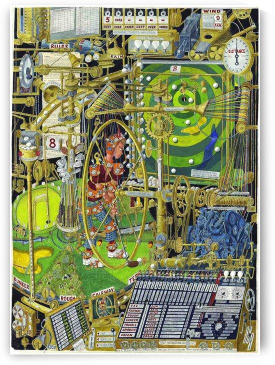 Golfmaskin - The golf machine by BjornWinsnes