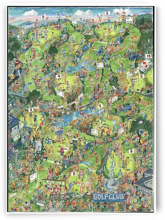 Golfbane - Golf course by BjornWinsnes