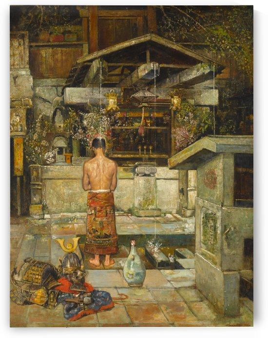 The holy cleansing of the Samurai by Gyula Tornai