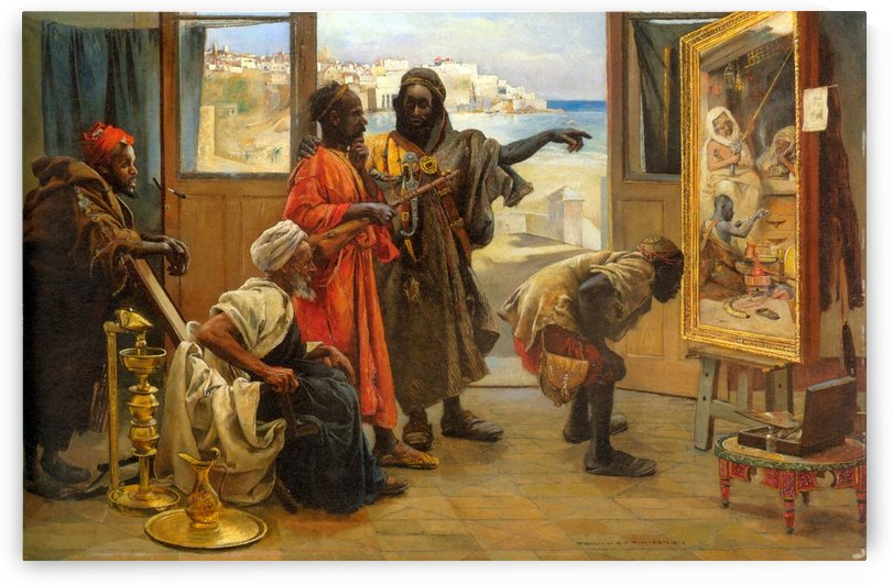 The Connoisseurs by Gyula Tornai