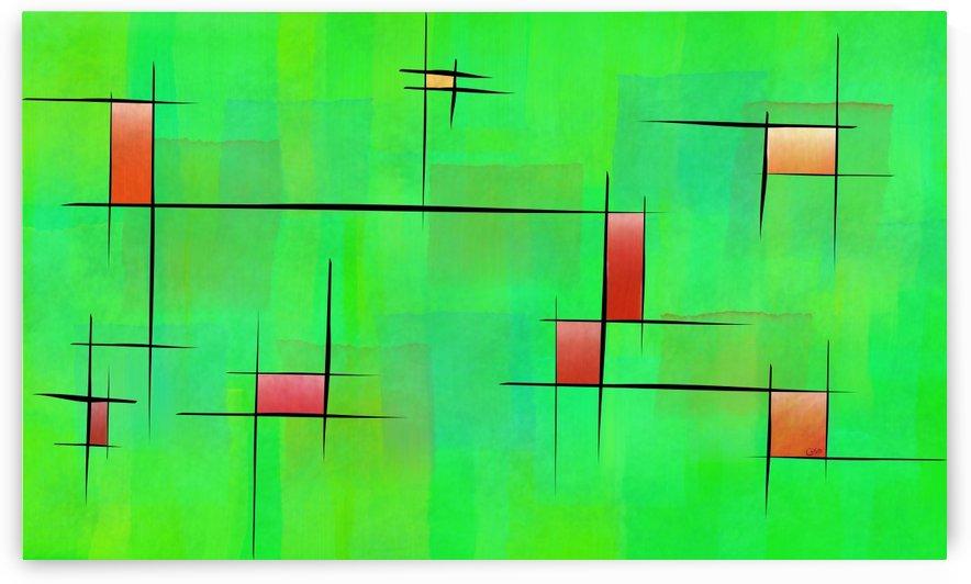 Ossipiana V1 - digital abstract by Cersatti Art