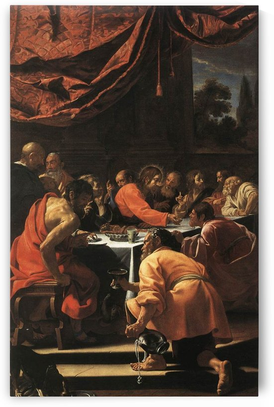 The Last Supper by Simon Vouet