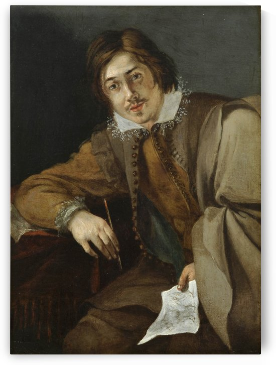 Self portrait by Simon Vouet