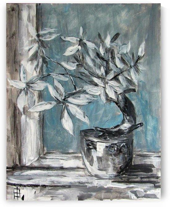 Grey Bonsai by Ecaterina
