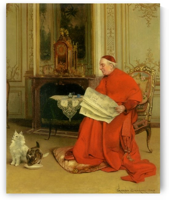 Reading the News by Georges Croegaert