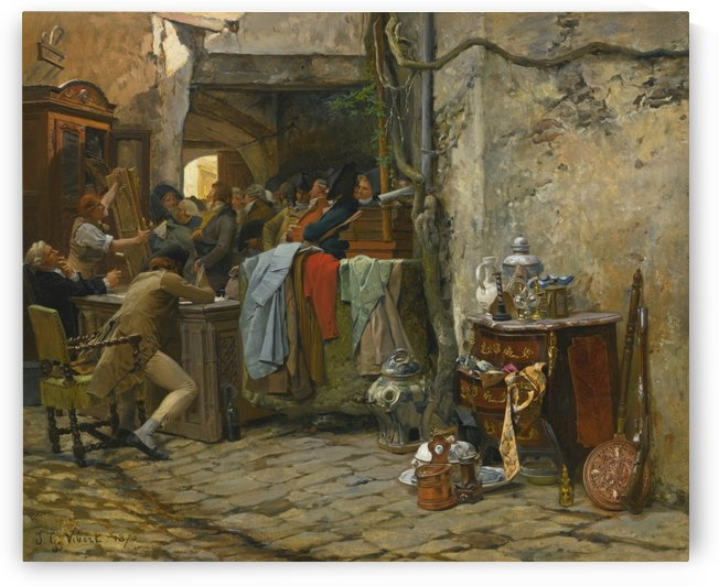 The movable sale by Vibert Jehan Georges