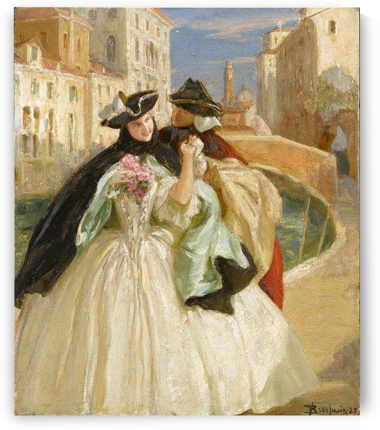 Carnival of Venice by Vittorio Emanuele Bressanin