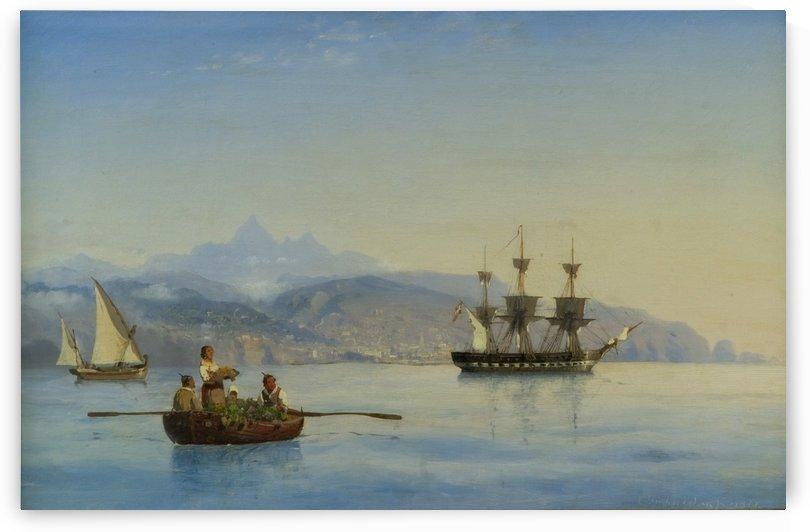 Bay of Palermo, Sicily by Carl Frederik Sorensen