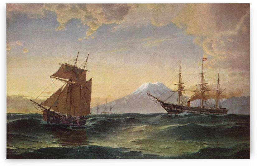 Under Island by Carl Frederik Sorensen