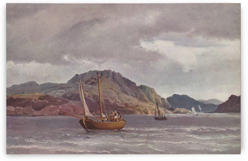The archipelago of Marstrand - 1852 by Carl Frederik Sorensen