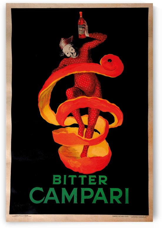 Original Vintage Poster Bitter Campari by VINTAGE POSTER
