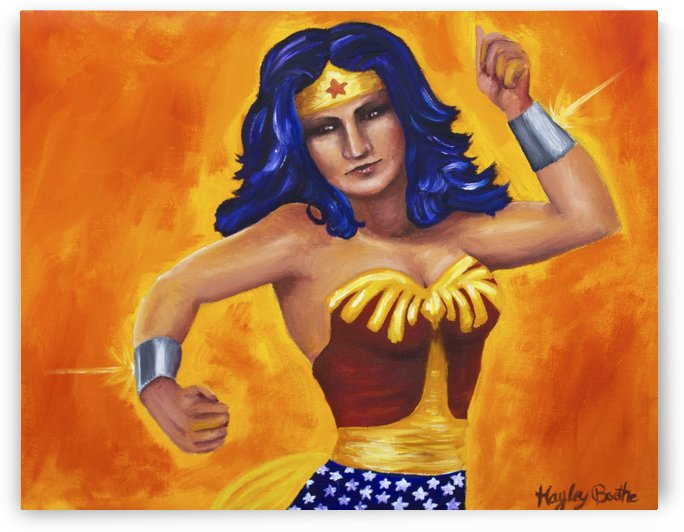 Wonder Woman by Hayley Boothe
