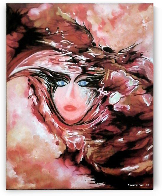Self and Model  by Carmen Fine Art