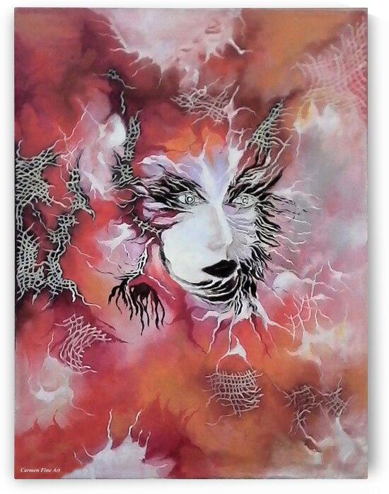 Tender Demon  by Carmen Fine Art