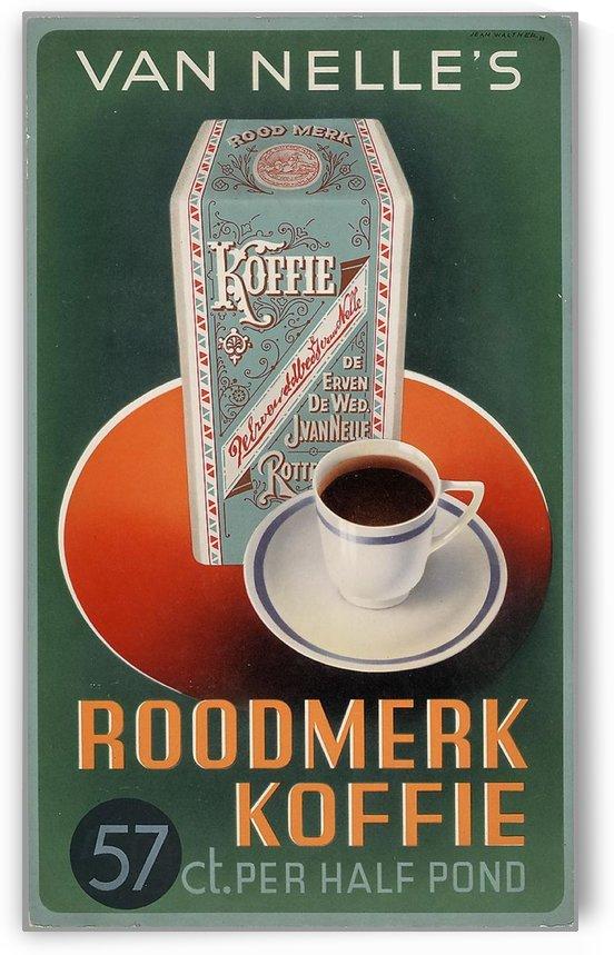 Vintage poster for Van Nelle Roodmerk Koffie by VINTAGE POSTER