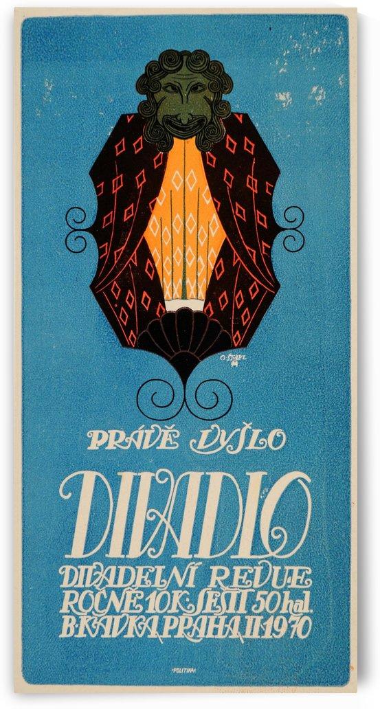 Prave Dylo Divadlo vintage poster by VINTAGE POSTER