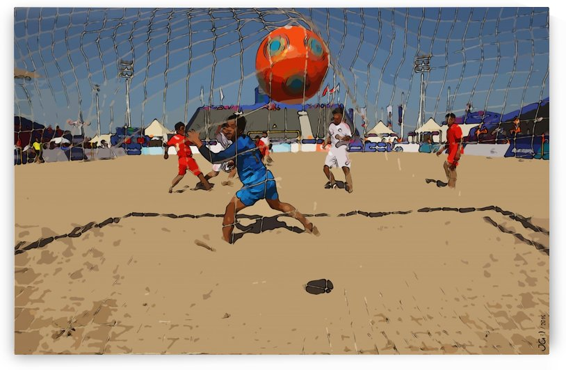 Beach football_16 by Watch & enjoy-JG