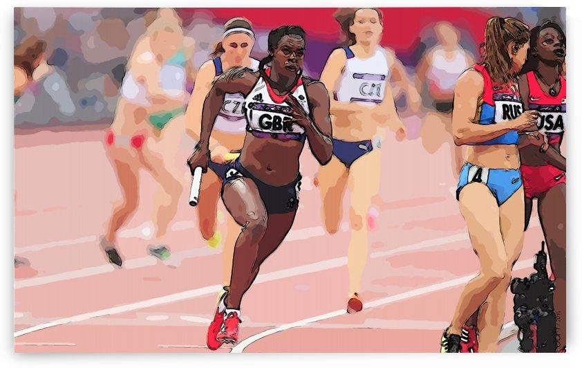 Athletics_34 by Watch & enjoy-JG