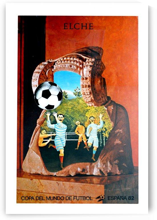Coppa del Mundo de Futbol, Espana, Elche 1982 by VINTAGE POSTER