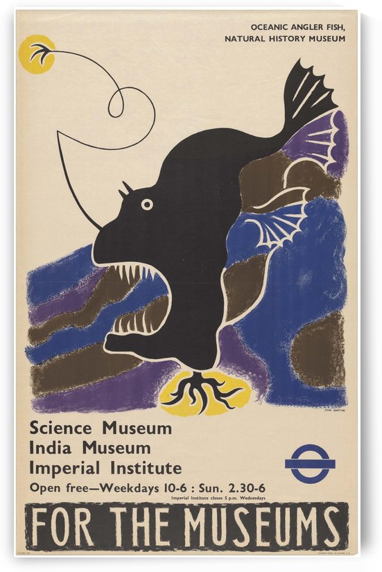 Vintage poster for Science Museum India Museum Imperial Institute by VINTAGE POSTER