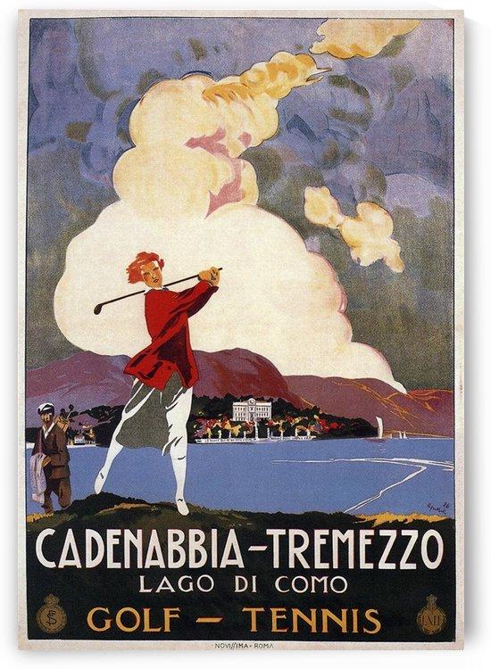 Cadenabbia-Tremezzo, Lake Como poster, 1926 by VINTAGE POSTER