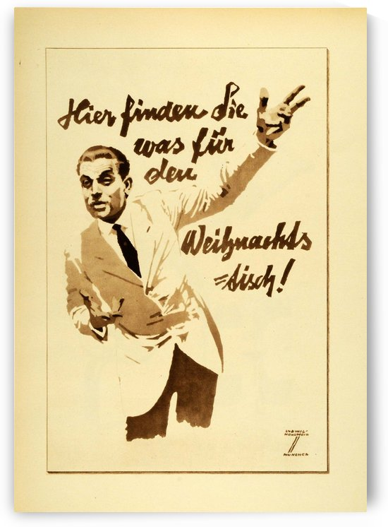 1920 Ludwig Hohlwein Poster Lithographs and Gravures for consulting by VINTAGE POSTER