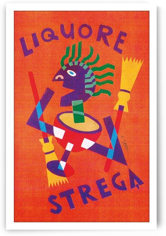 Strega Alberti Benevento poster by VINTAGE POSTER