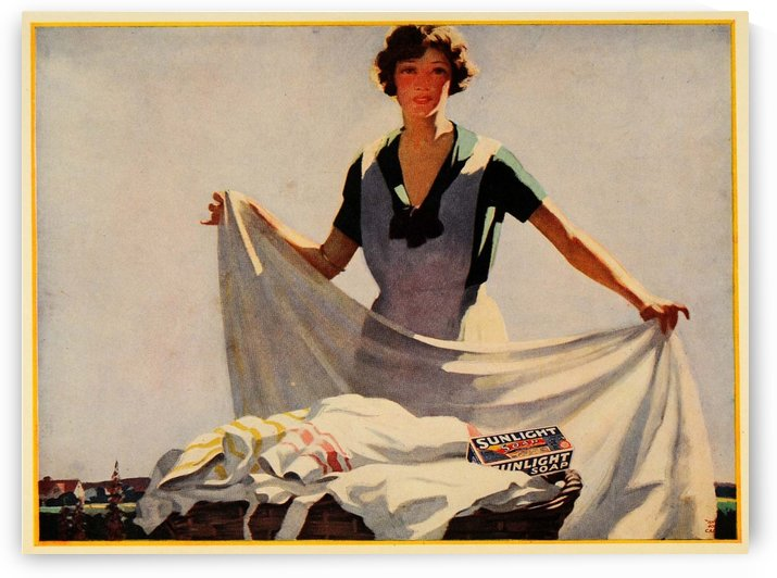 Sunlight soap by VINTAGE POSTER