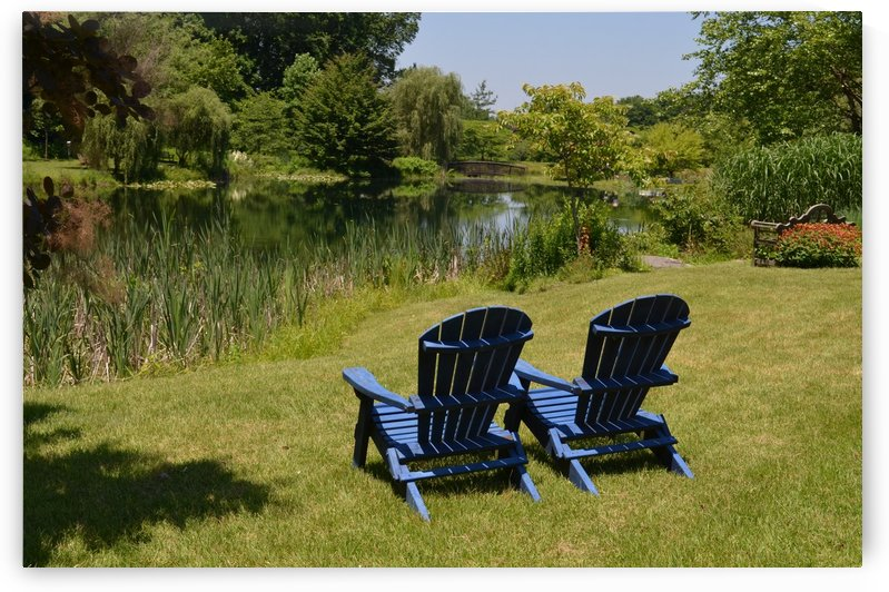 Blue Chairs by BK