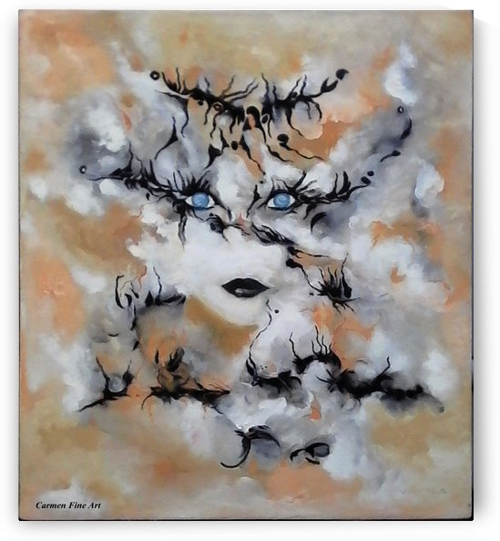 Theme from Sacred Poetry by Carmen Fine Art