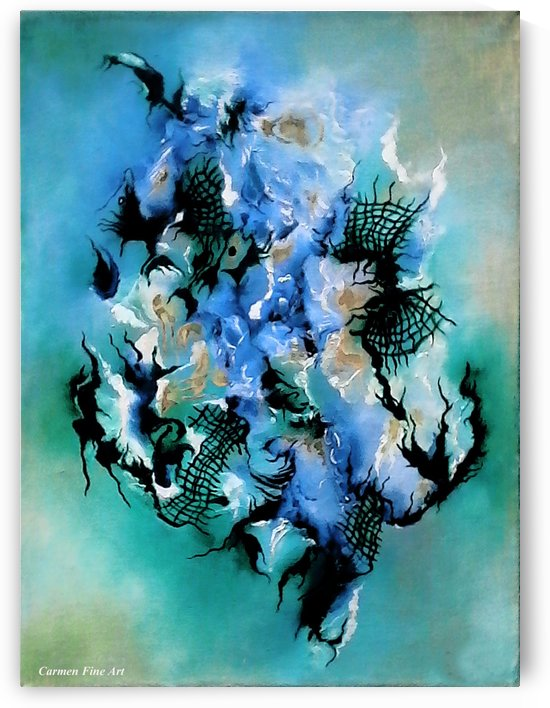 Birth with Expression by Carmen Fine Art