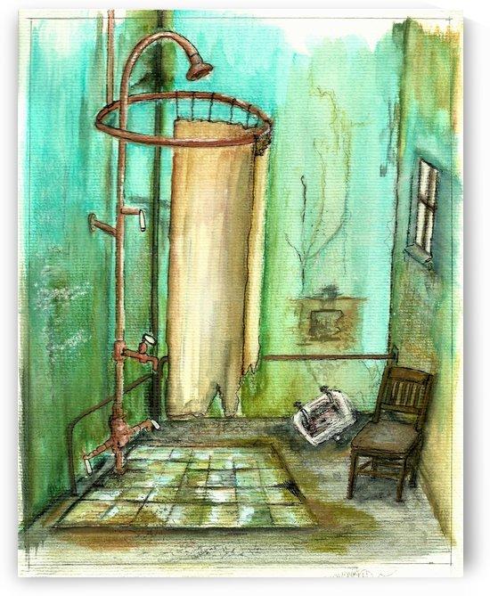 abandoned bathroom I by Chelle Destefano AKA Gypsysnail