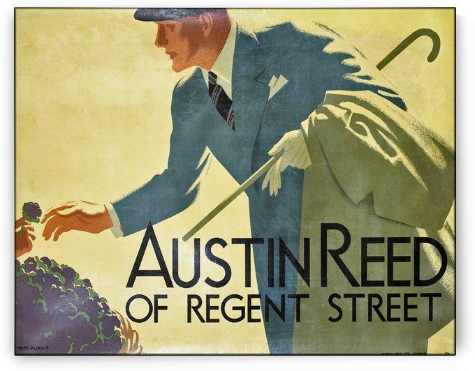 Austin Reed of Regent Street vintage poster by VINTAGE POSTER