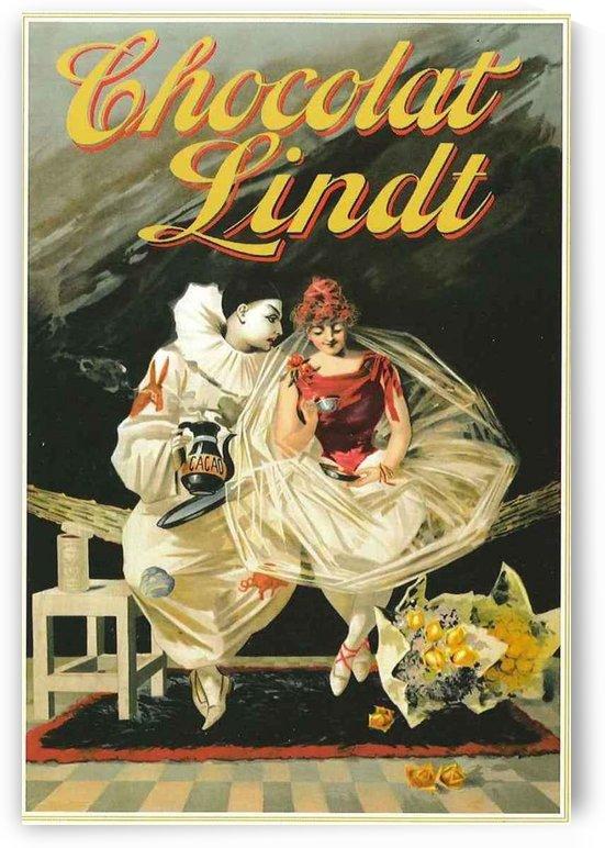 Vintage Chocolat Lindt poster by VINTAGE POSTER