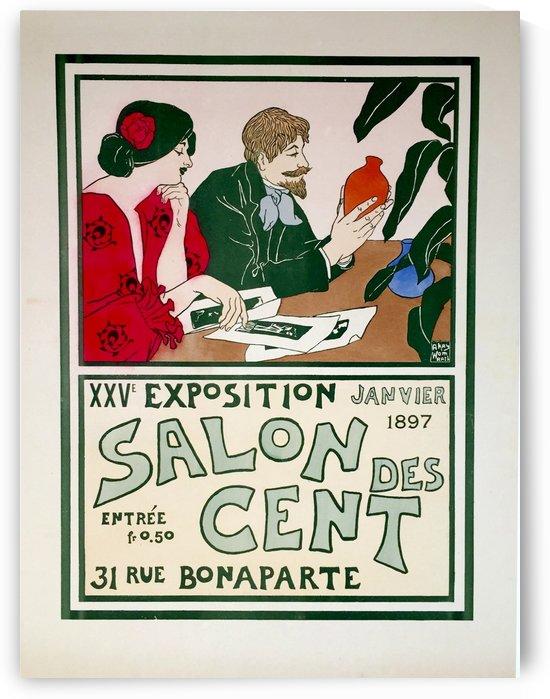 Salon des Cent vintage affiche by VINTAGE POSTER