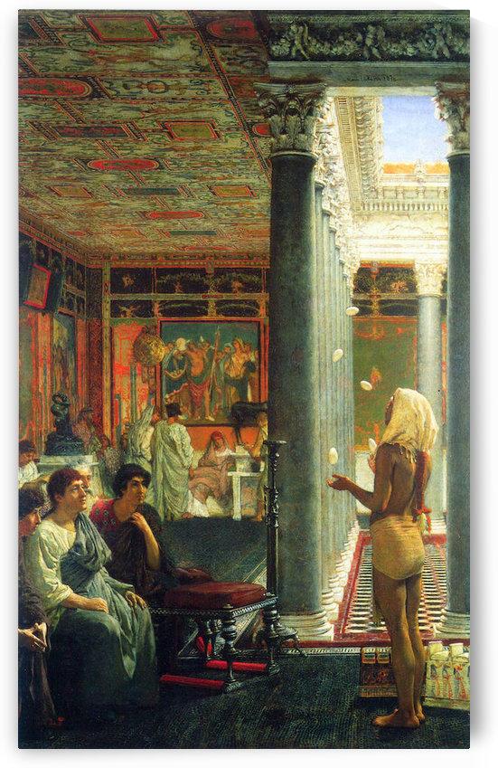 Juggler by Alma-Tadema by Alma-Tadema