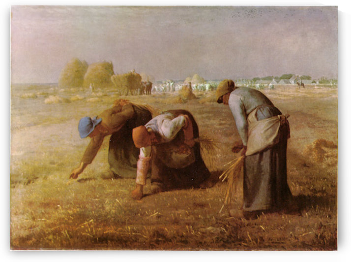 Les_Glaneuses_1857 by Millet by Millet