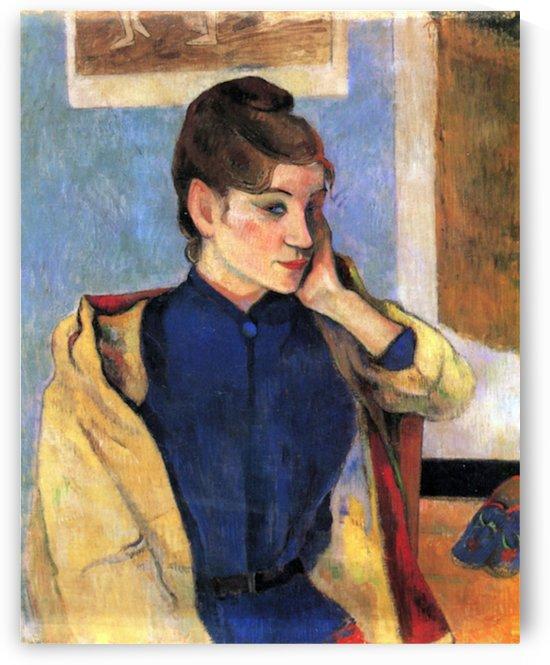 Madeleine Bernard by Gauguin by Gauguin