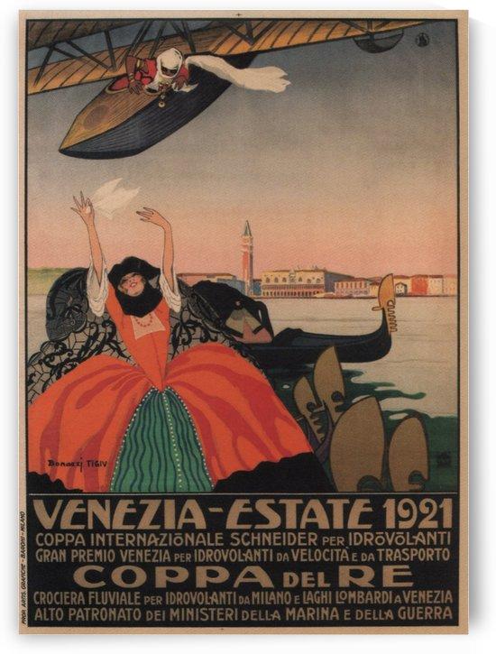 Venezia Estate vintage poster by VINTAGE POSTER