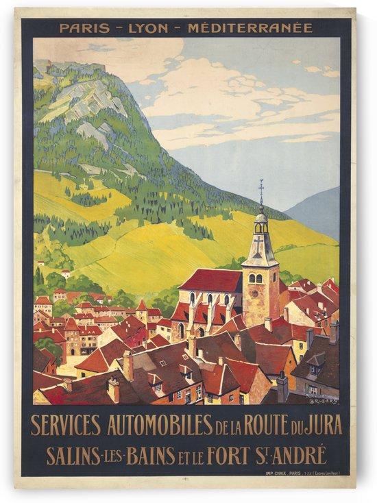 Services Automobiles de la Route du Jura by VINTAGE POSTER