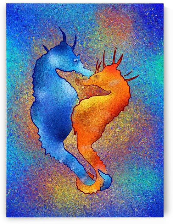 Tenimessa V1 - amazing seahorses by Cersatti Art