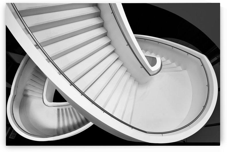 B&W staircase by 1x
