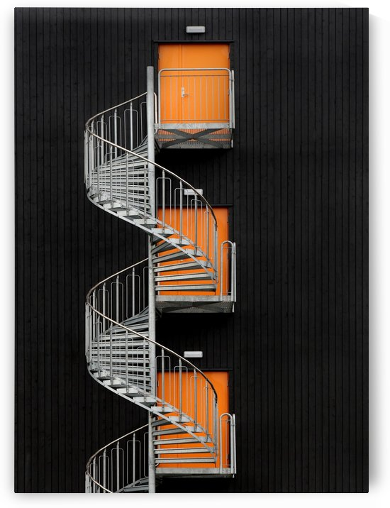 Northernmost spiral staircase by 1x