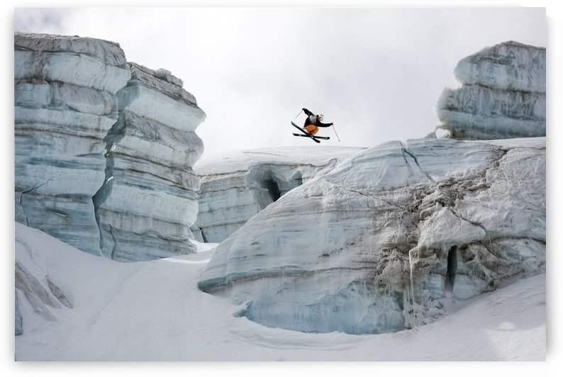 Candide Thovex out of nowhere into nowhere by 1x
