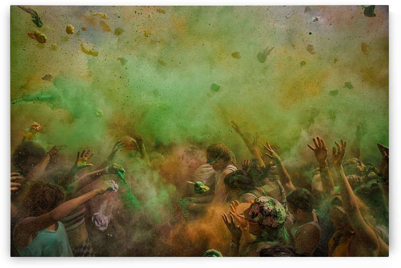 paint fight by 1x