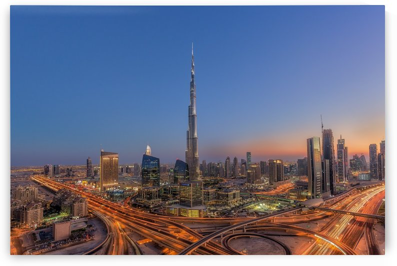 The Amazing Burj Khalifah by 1x